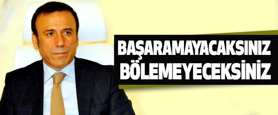 Osman Genç, Başaramayacaksınız Bölemeyeceksiniz