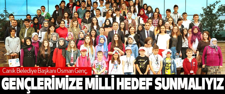 Osman Genç: Gençlerimize Milli Hedef Sunmalıyız