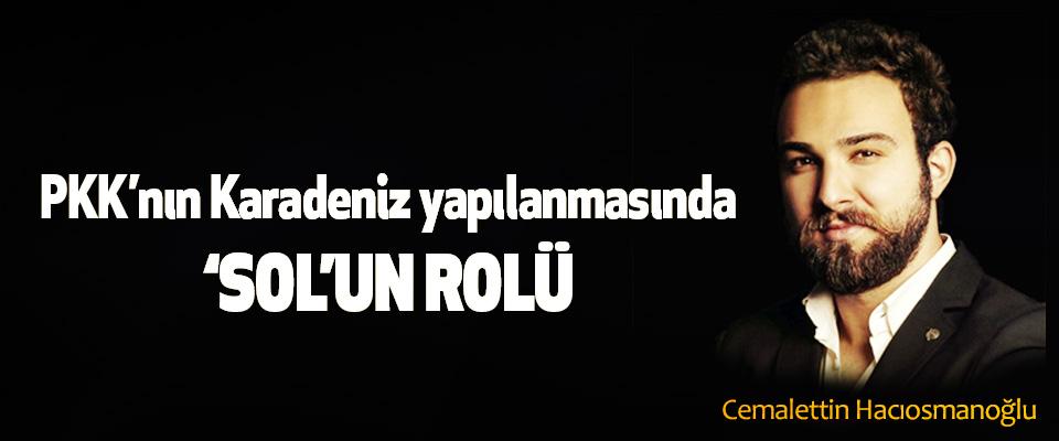 PKK'nın Karadeniz yapılanmasında 'Sol'un Rolü