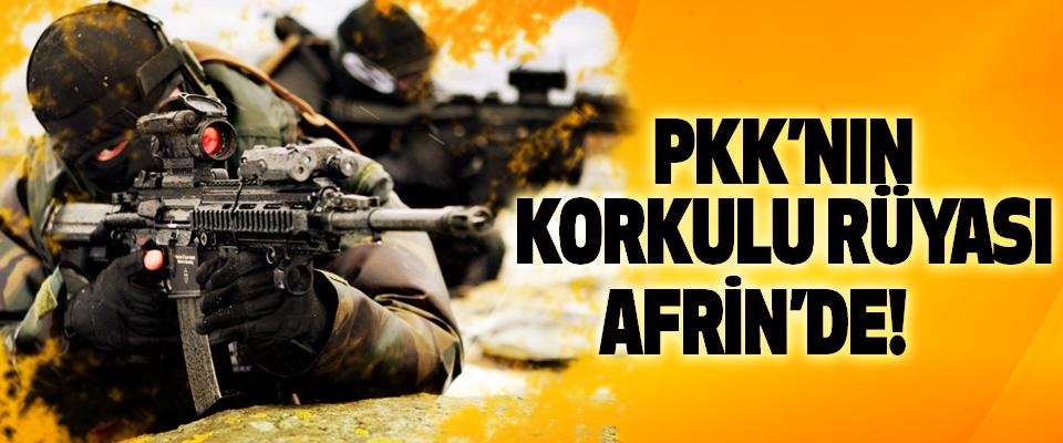 PKK'nın Korkulu Rüyası Afrin'de!