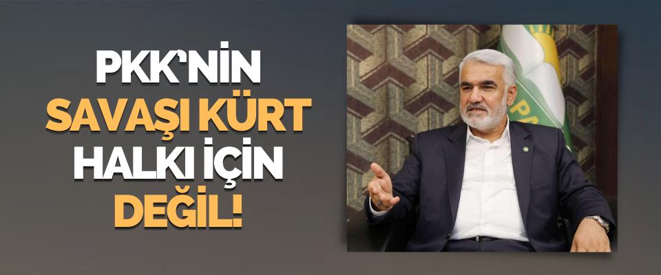 PKK'nin Savaşı Kürt Halkı İçin Değil!