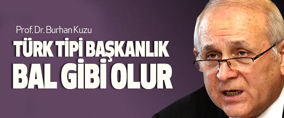Prof. Dr. Burhan Kuzu, Türk Tipi Başkanlık Bal Gibi Olur