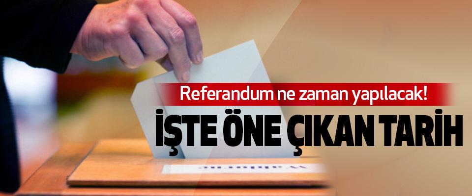 Referandum 16 Nisan'da yapılacak