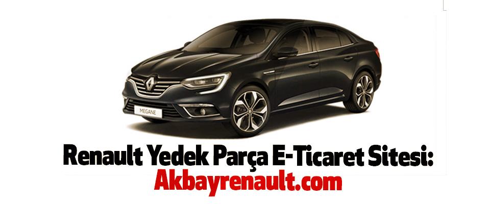 Renault Yedek Parça E-Ticaret Sitesi: Akbayrenault.com