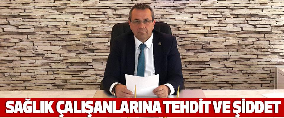 Samsun'da Sağlık Çalışanlarına Tehdit Ve Şiddet
