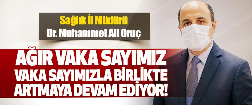 Sağlık İl Müdürü Dr. Muhammet Ali Oruç