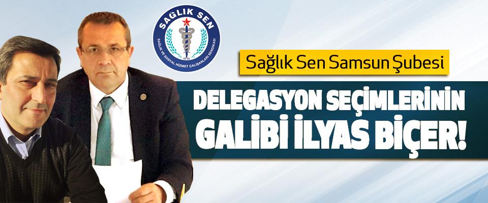 Sağlık Sen Samsun Şubesi Delegasyon seçimlerinin galibi İlyas biçer!