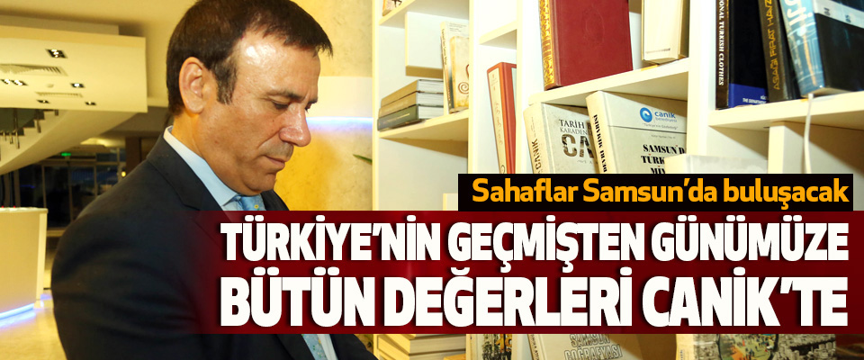 Sahaflar Samsun'da buluşacak