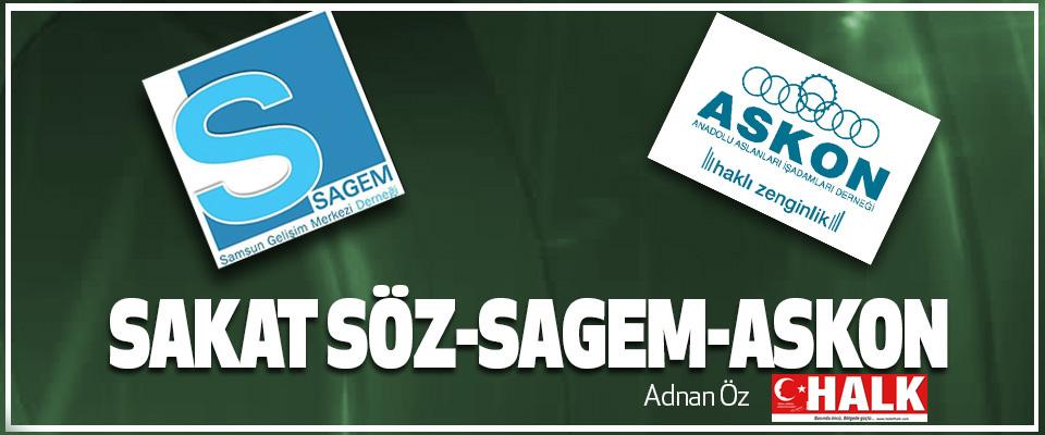 Sakat Söz-Sagem-Askon