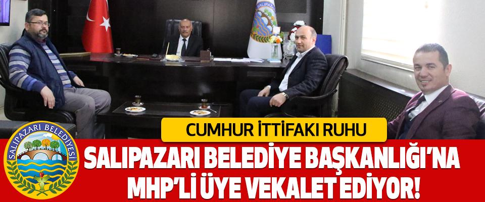 Salıpazarı Belediye Başkanlığı'na MHP'li üye vekalet ediyor!