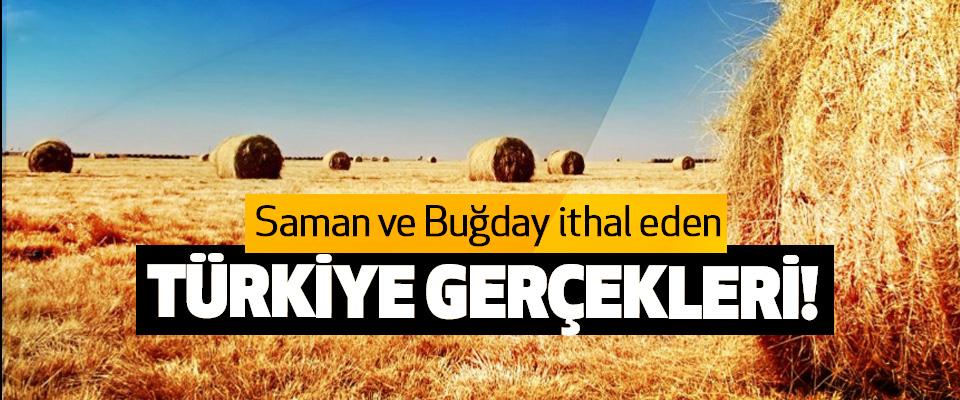 Saman ve Buğday ithal eden Türkiye Gerçekleri!