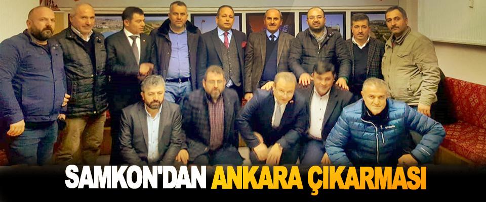 SAMKON'dan Ankara Çıkarması