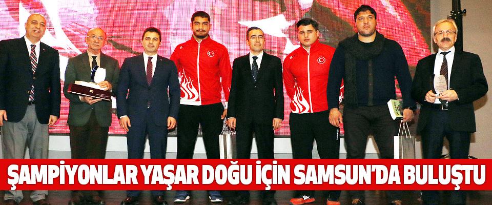 Şampiyonlar Yaşar Doğu İçin Samsun'da Buluştu