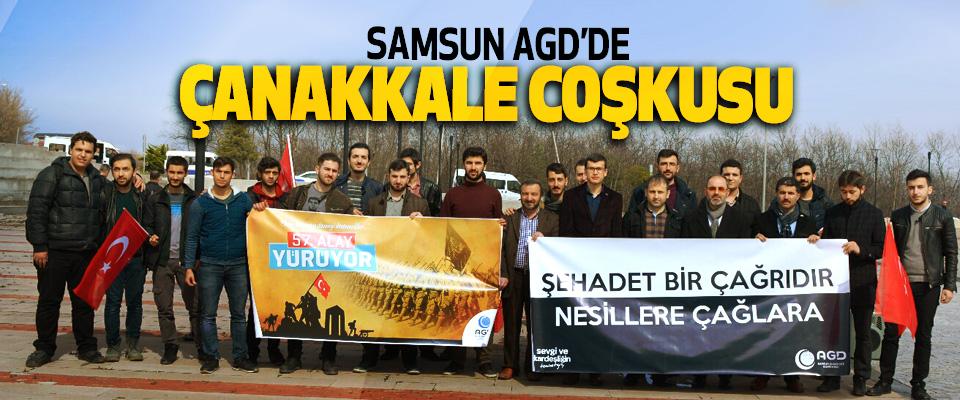 Samsun AGD'de Çanakkale Coşkusu