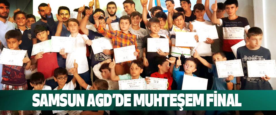 Samsun Agd'de Muhteşem Final