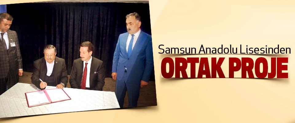 Samsun Anadolu Lisesinden Ortak Proje