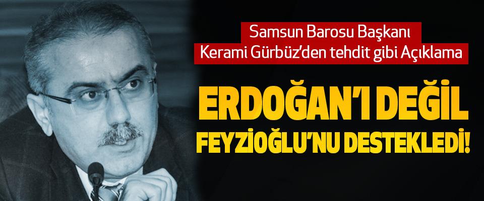 Samsun Barosu Başkanı Kerami Gürbüz'den tehdit gibi Açıklama