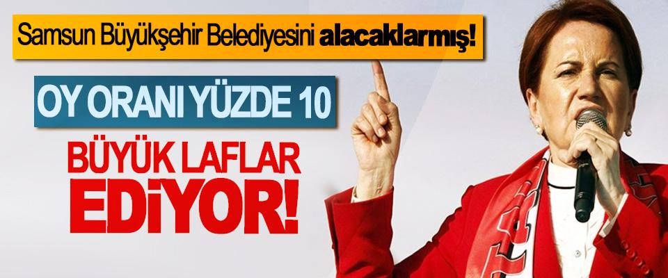 Samsun Büyükşehir Belediyesini alacaklarmış