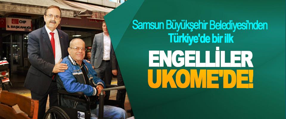 Samsun Büyükşehir Belediyesi'nden Türkiye'de bir ilk