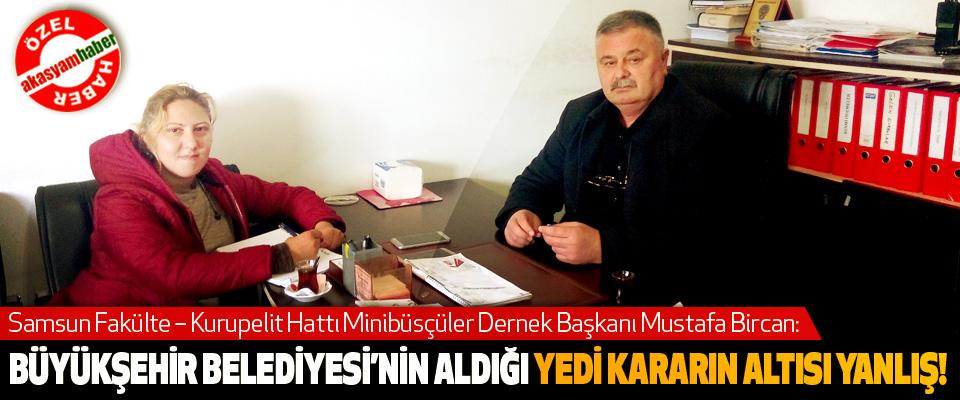 Samsun Büyükşehir Belediyesi'nin yedi yılda  aldığı yedi kararın altısı yanlış!