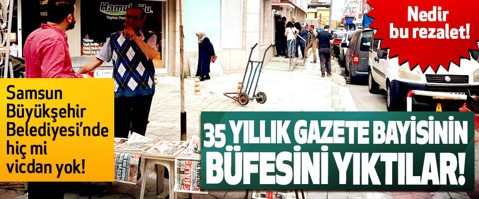 Samsun Büyükşehir Belediyesi'nde hiç mi vicdan yok