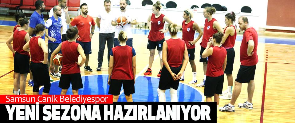 Samsun Canik Belediyespor Yeni Sezona Hazırlanıyor