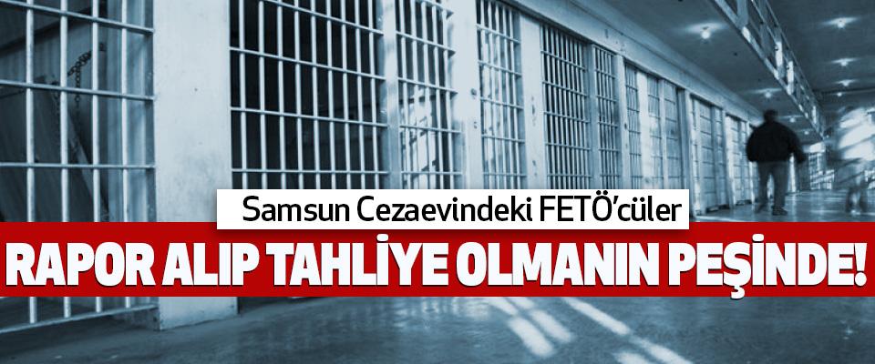 Samsun Cezaevindeki FETÖ'cüler Rapor alıp tahliye olmanın peşinde!