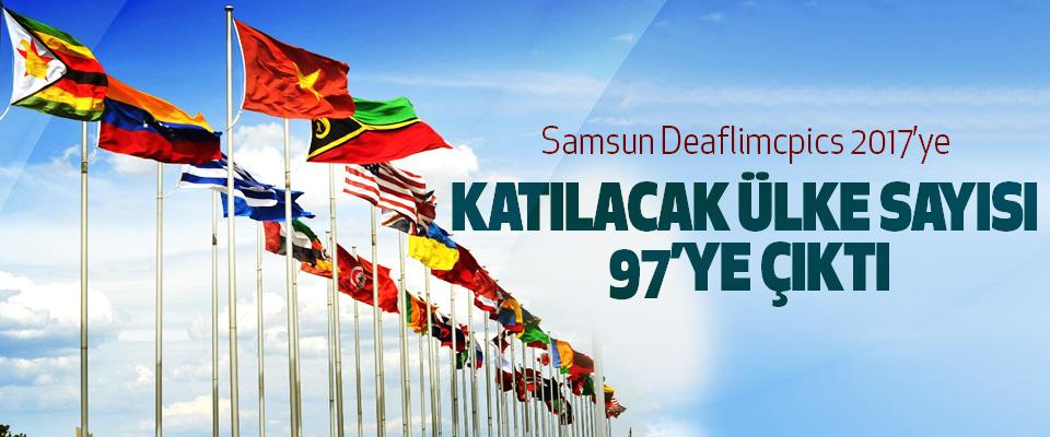 Samsun Deaflimcpics 2017'ye Katılacak Ülke Sayısı 97'ye Çıktı
