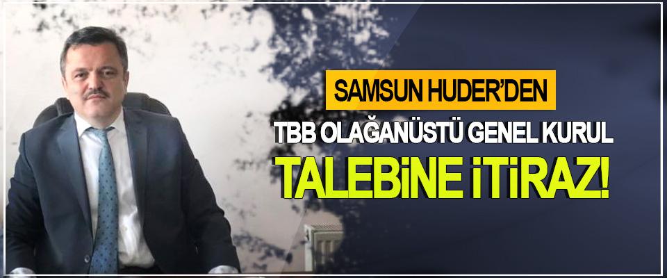 Samsun HUDER'den TBB olağanüstü genel kurul talebine itiraz!