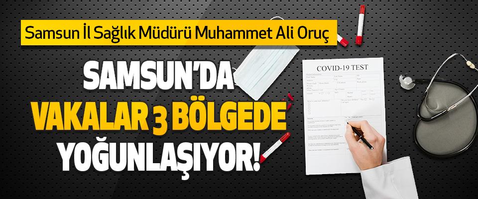 Samsun İl Sağlık Müdürü Muhammet Ali Oruç
