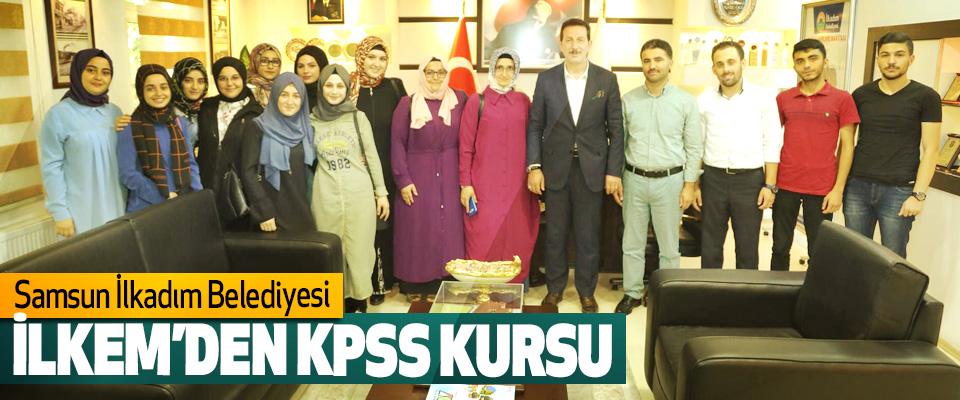 Samsun İlkadım Belediyesi İLKEM'den KPSS kursu