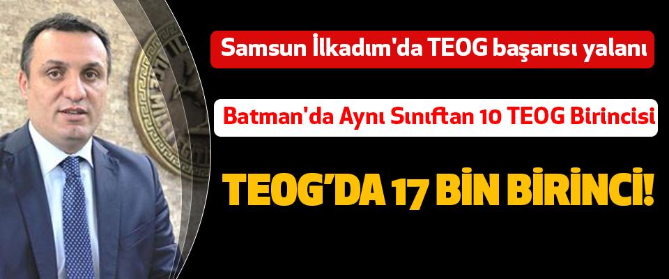 Samsun İlkadım'da TEOG başarısı yalanı