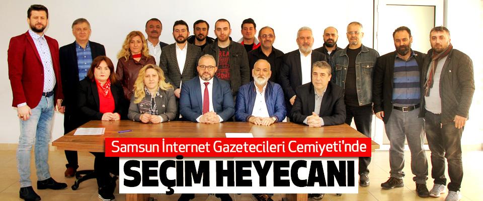 Samsun İnternet Gazetecileri Cemiyeti'nde Seçim Heyecanı
