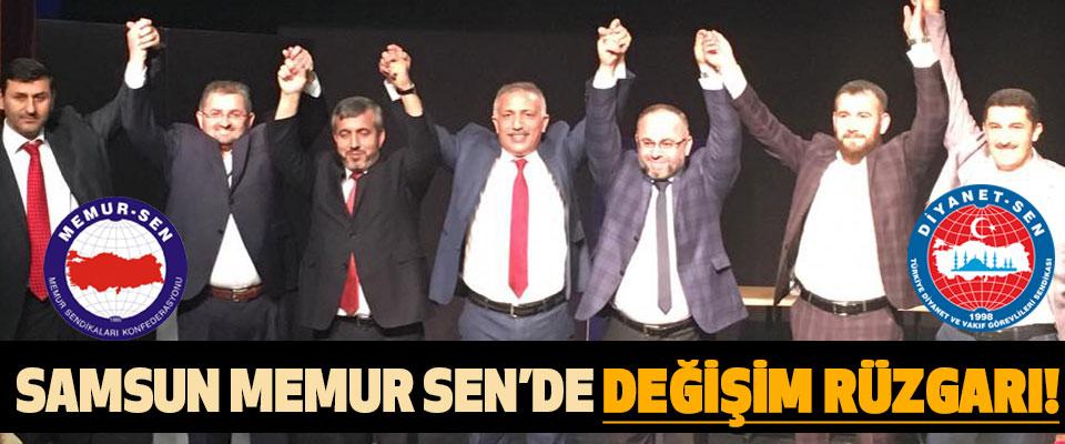 Samsun Memur Sen'de Değişim Rüzgarı!
