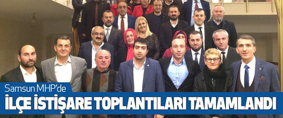 Samsun MHP'de İlçe İstişare Toplantıları Tamamlandı