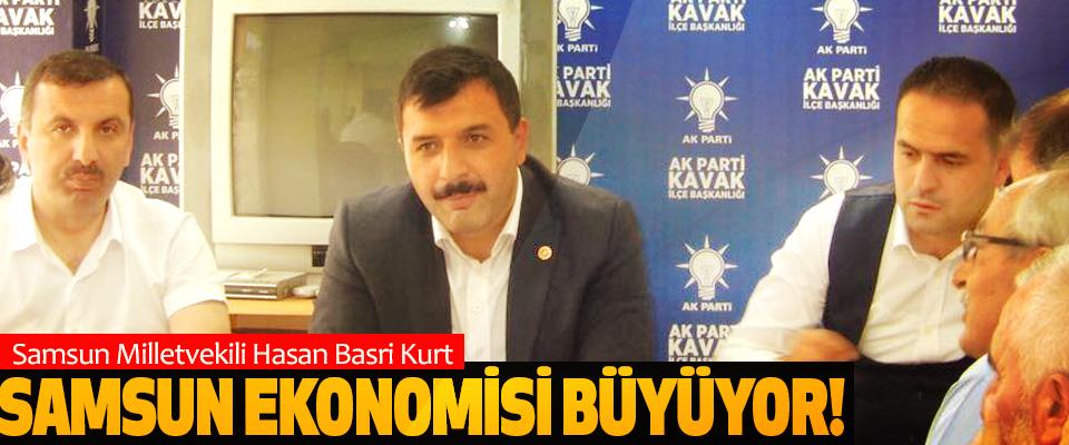 Samsun Milletvekili Hasan Basri Kurt: Samsun ekonomisi büyüyor!