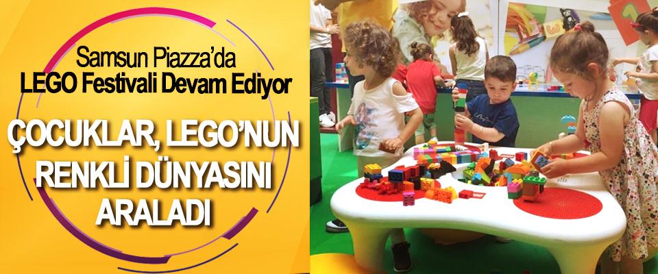 Samsun Piazza'da LEGO Festivali Devam Ediyor
