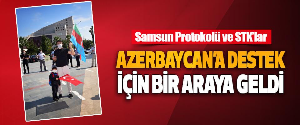 Samsun Protokolü Ve Stk'lar Azerbaycan'a Destek İçin Bir Araya Geldi