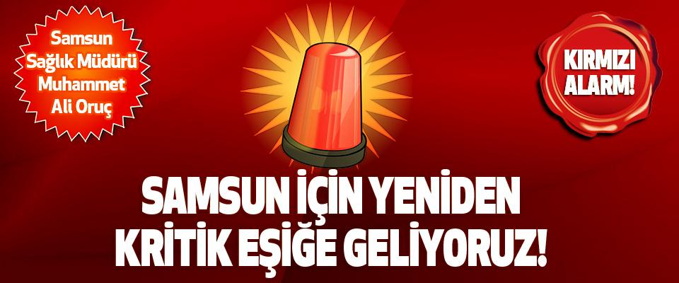 Samsun Sağlık Müdürü Muhammet Ali Oruç