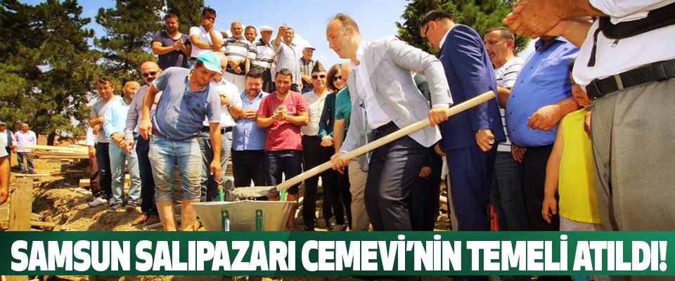 Samsun salıpazarı Cemevi'nin temeli atıldı!