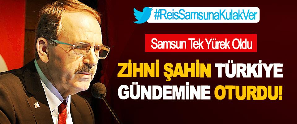 Samsun Tek Yürek Oldu, Zihni şahin Türkiye gündemine oturdu!