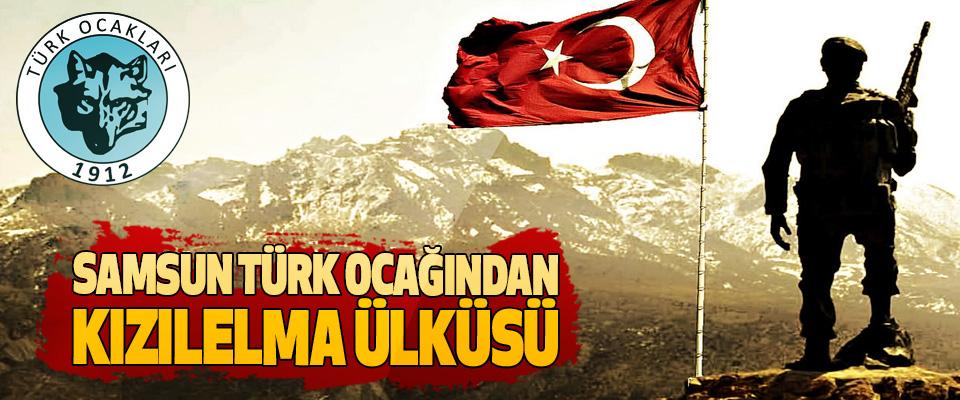 Samsun Türk Ocağından Kızılelma Ülküsü