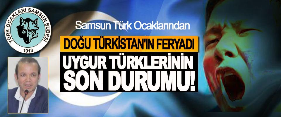 Samsun Türk Ocaklarından Doğu Türkistan'ın feryadı Uygur Türklerinin son durumu!
