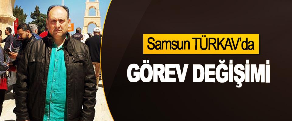 Samsun TÜRKAV'da Görev Değişimi
