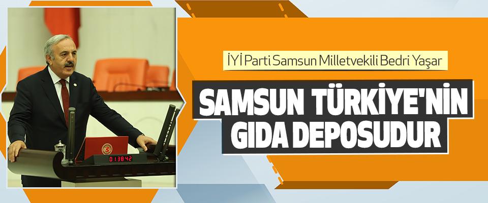 Samsun, Türkiye'nin Gıda Deposudur