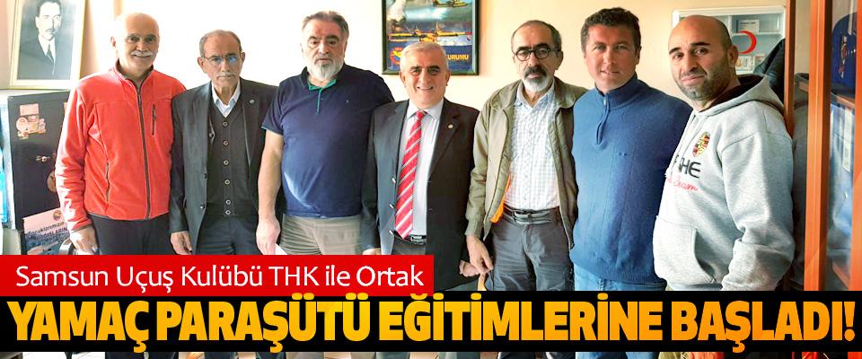 Samsun Uçuş Kulübü THK ile Ortak Yamaç paraşütü eğitimlerine başladı!