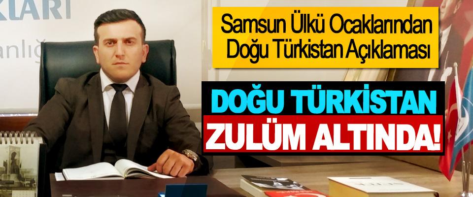 Samsun Ülkü Ocaklarından Doğu Türkistan Açıklaması