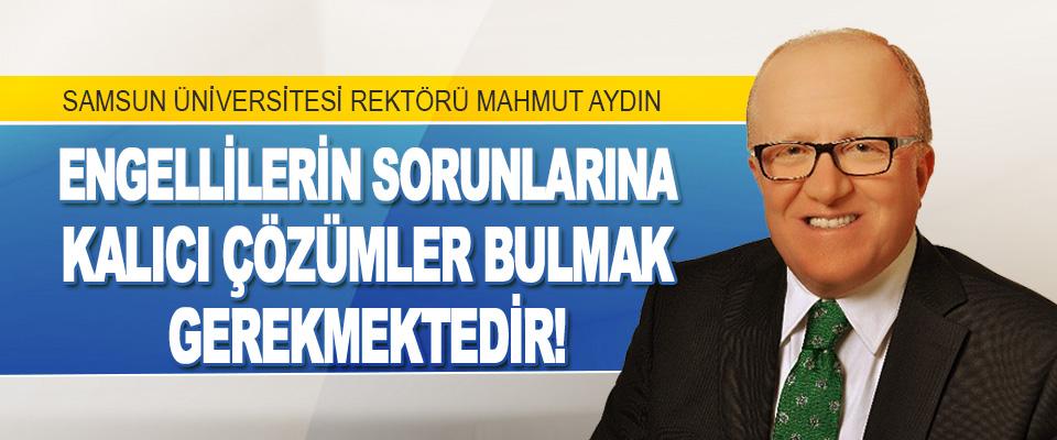Samsun Üniversitesi Rektörü Mahmut Aydın