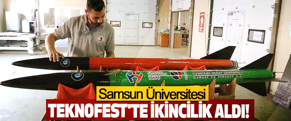 Samsun Üniversitesi Teknofest'te İkincilik Aldı!