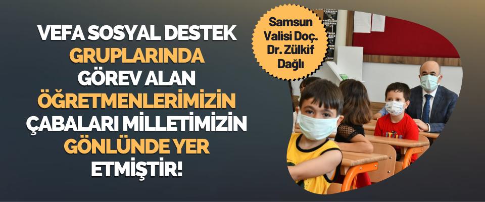 Samsun Valisi Doç. Dr. Zülkif Dağlı